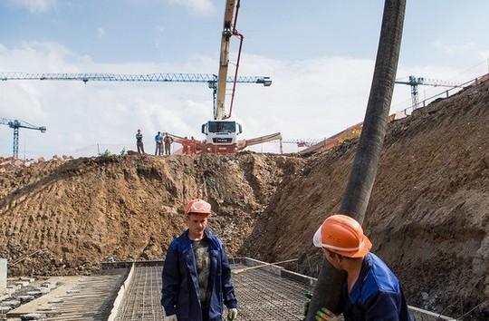 Заливка «первого бетона»